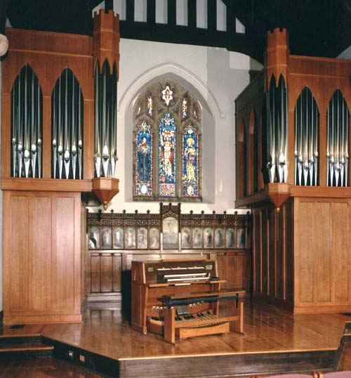 Large Organ in a Church