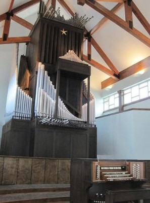 Organ Inside a Building